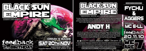 feedback drum and bass black sun empire andy h