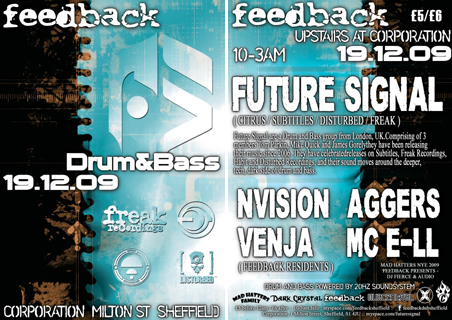 feedback drum and bass future signal