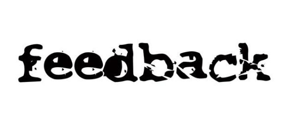 feedback drum and bass logo old