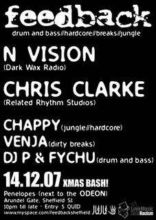 feedback drum and bass resident xmas special
